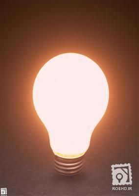 لامپ روشن
