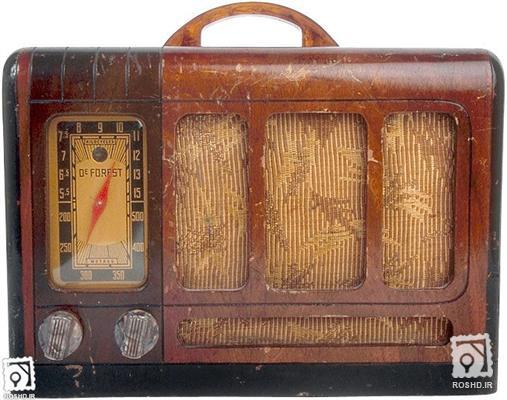عکسهای رادیو قدیمی